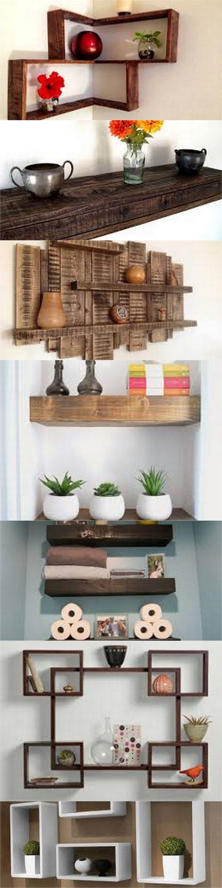 DIY Pallet Shelves ideas 4278 best Projets