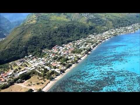 TAHITI - Baptême de Parapente / Paragliding in Tahiti - YouTube