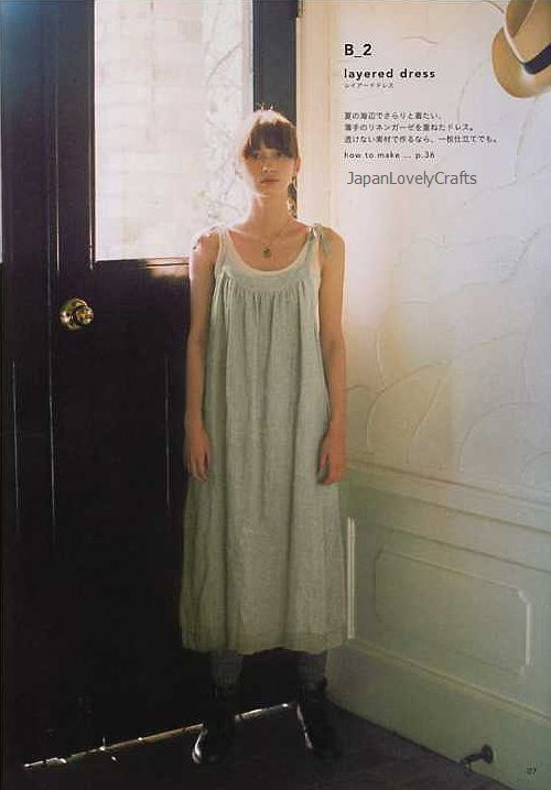 Simple Chic - Tomomi Okawa - Japanese Sewing Pattern Book for Women - Chic, Simple Stylish Clothes - B814