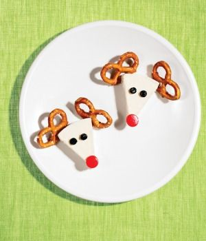 On, Rudolph! | Christmas Snacks - Parenting.com