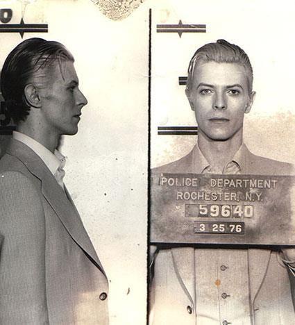 David Bowie-Best mugshot ever
