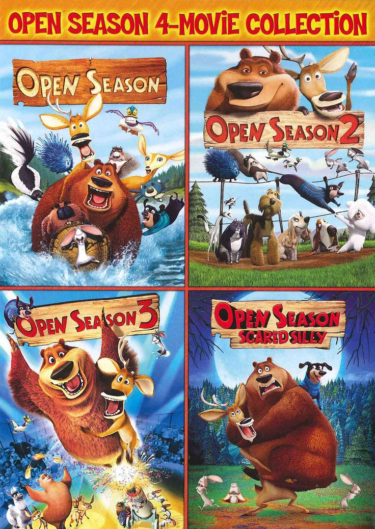 Open Season/Open Season 2/Open Season 3/Open Season: Scared Silly