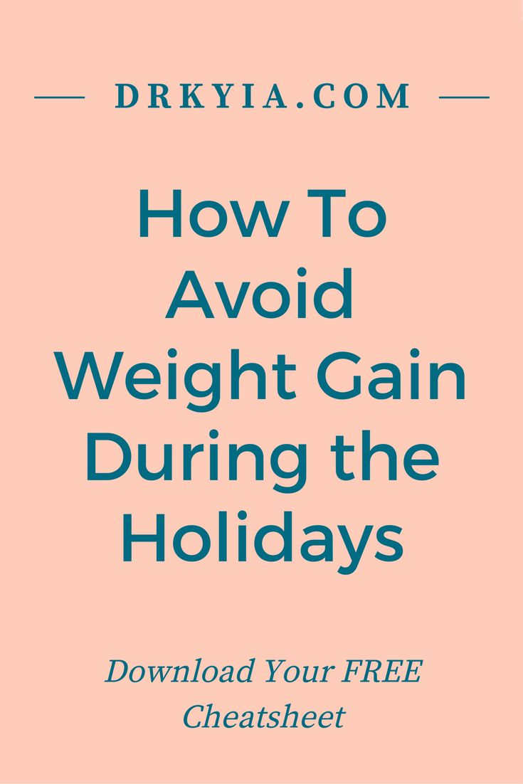 How to Avoid Weight Gain, Holiday Weight Loss, Healthy Holiday Tips