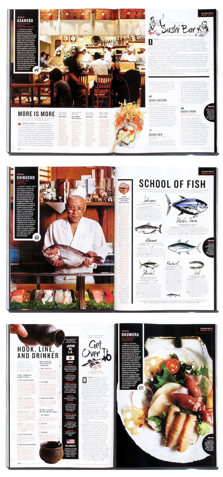 The photos are excellent and the graphics works well throughout the spreads. I…