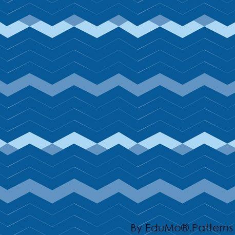 Optical Illusion Stripes (blue)