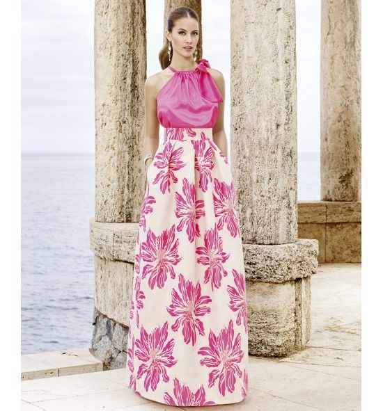 27 best vestidos de fiesta images on Pinterest | Maxi skirts, Long ...