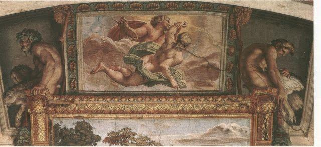 Ο Απόλλωνας ταξιδεύει προς τον ουρανό με τον Υάκινθο