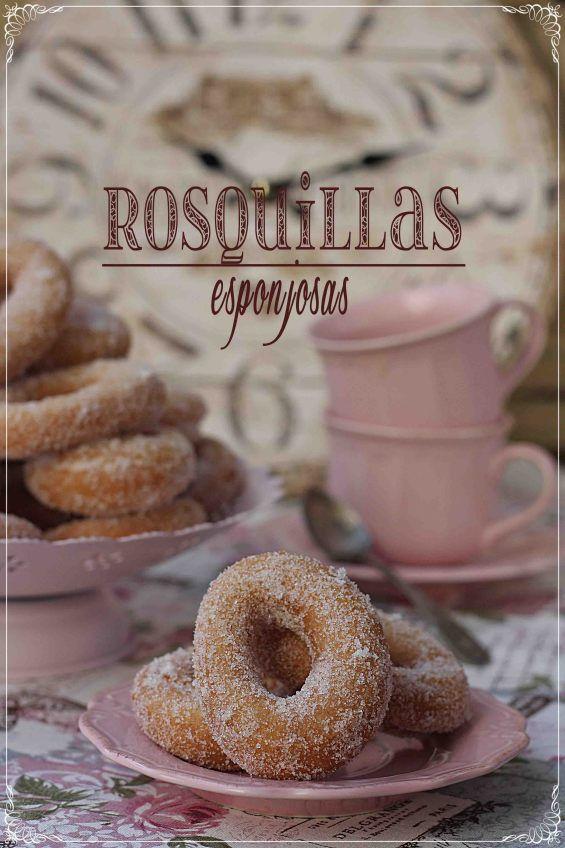 Rosquillas esponjosas {by Paula, Con las Zarpas en la Masa}