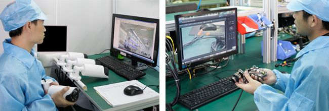 "Quality Test - GWSECU adhering to the ""quality first"" principle. We provide superior products and services to our clients. Company invests abundant capital in advanced testing equipments to ensure products quality. Test including: Water-spray test, Constant temperature and moisture test, Transportation simulation test, Salt spray test, etc."