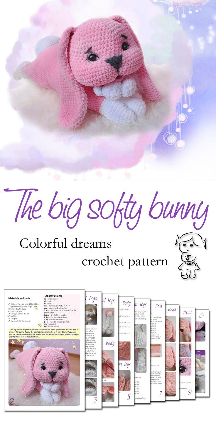 #crochet #pattern #bunny #softy #amigurumi