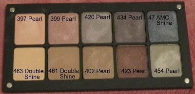 inglot eyeshadow palette.. i love every shade in this palette :D