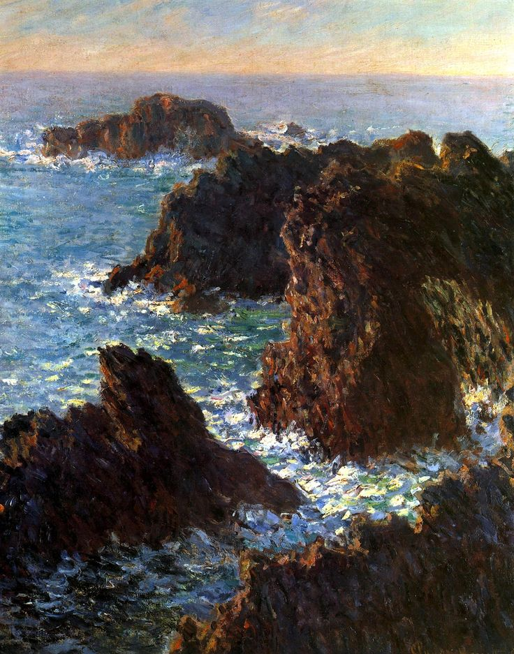 Claude Monet I didn't know Monet visited the CA coast!