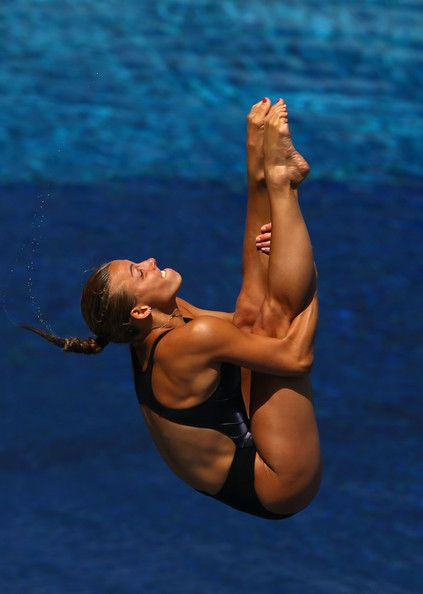 Tania Cagnotto of Italy competes in the Women's 3m Springboard Diving Semifinal round on day seven of the 15th FINA World Championships at Piscina Municipal de Montjuic on July 26, 2013 in Barcelona, Spain.