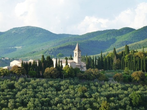 One of the most beautiful villages in Umbria - Trevi!