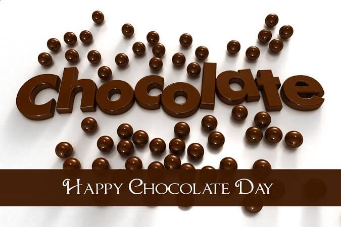 Happy Chocolate Day Wishes HD Wallpaper
