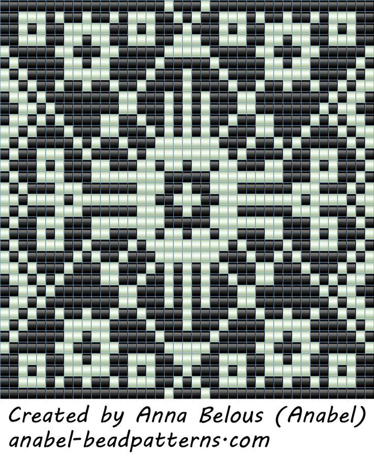 Схемы кулонов - станочное ткачество / гобеленовое плетение