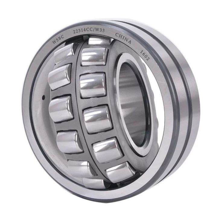 The roller of CC type spherical roller bearings is symmetrical ,inner ring without rib,each row of rollers with stamping steel cage .The  roller and raceway surface of CC type bearing has been optimized processed  , this  is helpful for roller guidance and reduce friction . For example , 22205 CC/W33 bearing, the suffix CC means stamping steel cage, W33 means the bearing outer ring has oil groove along with 3 oil holes.