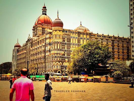 Taj Mahal Palace at Mumbai The Taj Mahal Palace opened in Mumbai, then Bombay...
