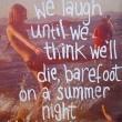 Summer Night Quote