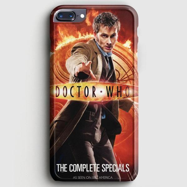 Doctor Who Tardis Divergent Dauntless iPhone 8 Plus Case