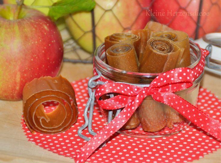 Rezepte: gesunder Snack -  Apfelpapier
