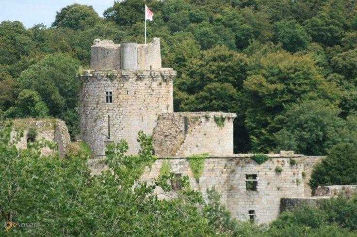 Замок Тонкедек – #Франция #Бретань (#FR_E) Монументальные руины замка-крепости, открыты для посещений с апреля по октябрь  ↳ http://ru.esosedi.org/FR/E/1000451886/zamok_tonkedek/