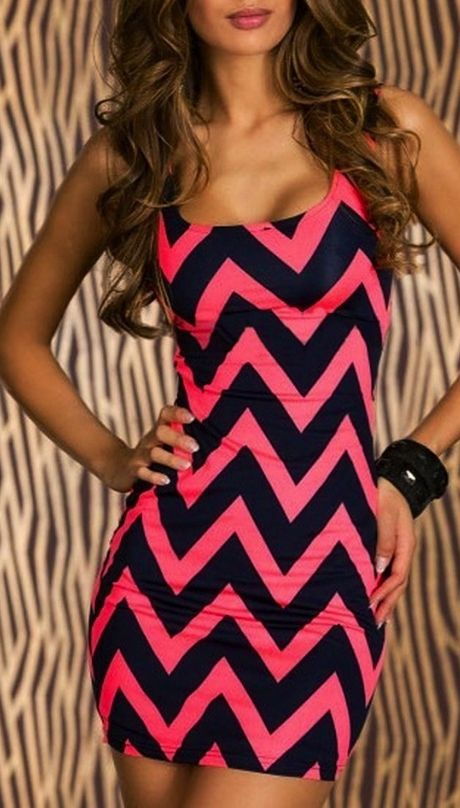 Chevron party dress- cute for a birthday!