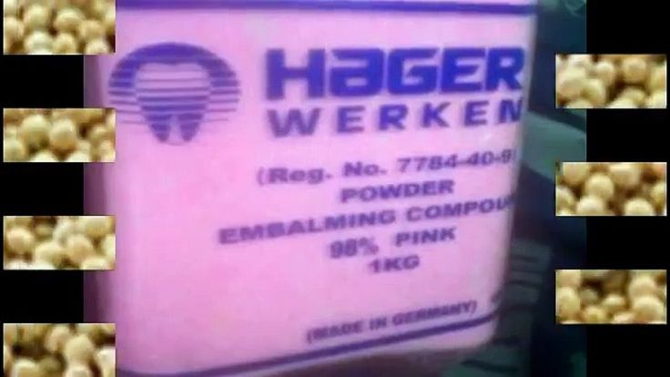 +27638250062 Hager Werken Embalming Compound Pink Powder in General items from Germany Embalming compound in powder form both PINK and WHITE Radioactive and not (HOT and not HOT) its all available. We are looking for serious buyers. we are selling in kil