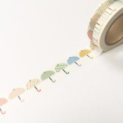 Hey Little Magpie Washi Tape - Umbrellas