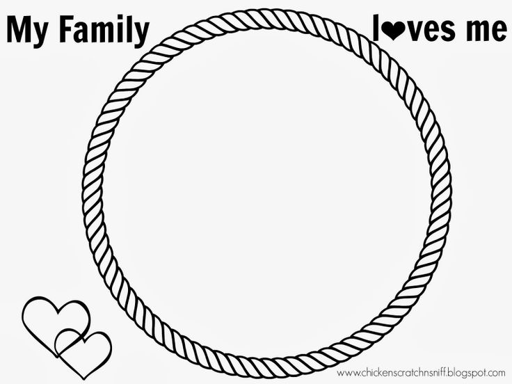 Chicken Scratch n Sniff: Primary 2: Lesson 6- We Have Special Families with free printables