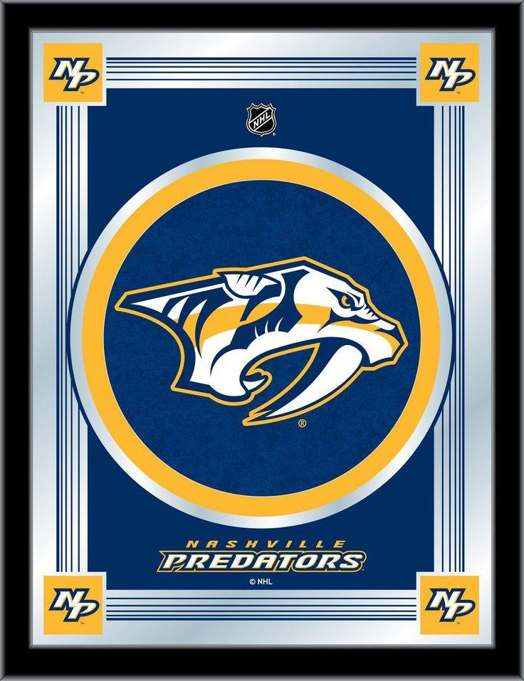 Nashville Predators NHL Logo Mirror Visit SportsFansPlus