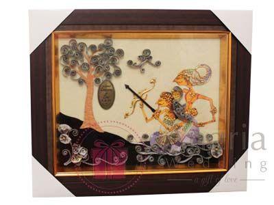 Mahar Nikah 2D Wayang Arjuna Srikandi. Contact us now Pin. 74073784 / WA 085645913004 | Visit us on www.souvenirnikah.co.id  #maharpernikahan #maharnikah #maharsurabaya #maharunik #maharnikahsurabaya #surabaya #anariawedding