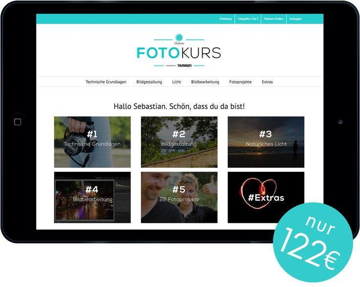 Fotokurs Online - Nur 122 Euro