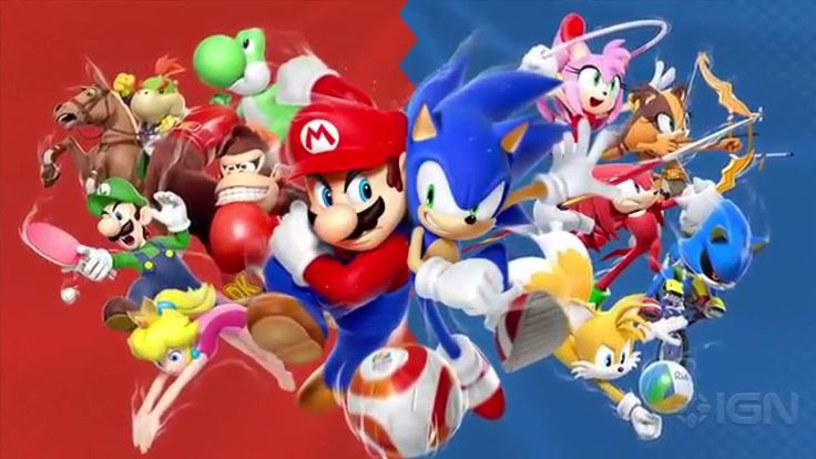 Mario & Sonic at the Rio 2016 Olympic Games - Official Japanese Overview...