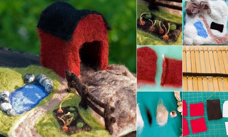 Felted farm tutorial