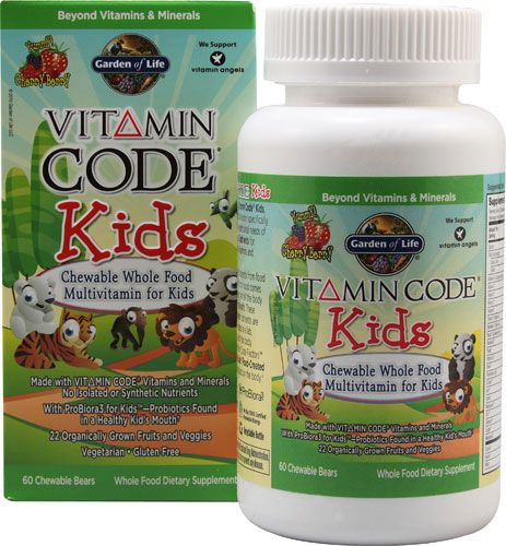 Garden of Life Vitamin Code® Kids Cherry Berry