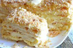 Наш любимый тортик!  Ингредиенты: Для коржей: ● Мука — 600-650 грамм; ● Маргарин…