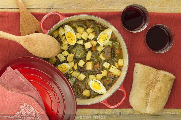Guisado de ternera con verduras en Cocotte