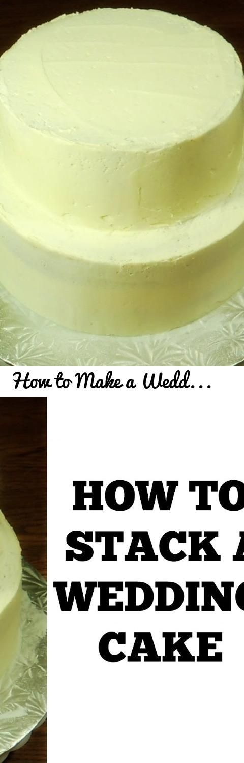 How to Make a Wedding Cake: Stacking a 2 Tier Wedding Cake (Part 1) by (HUMA IN THE KITCHEN)... Tags: how to make wedding cake, how to stack a wedding cake, easy wedding cake, wedding cake tutorial, wedding cake stacking, how to stack a cake, how to stack a tiered cake, how to make a wedding cake cookiecupcake, how to stack a cake with dowels, how to stack a cake with pillars, how to stack a cake with straws, diy cake stacking video, how to stack a wedding cake with dowels, how to stack a 2…