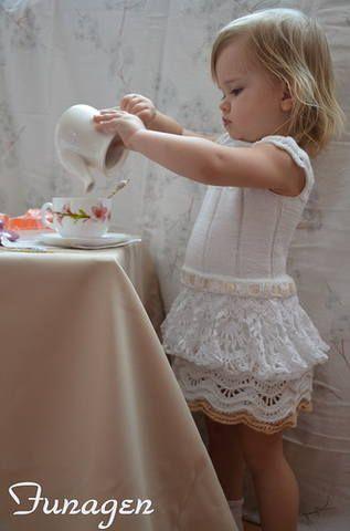 Белое платье по мотивам Carmen Taberne.