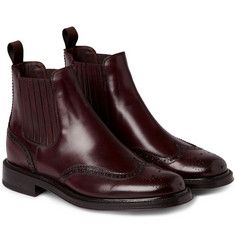 BrioniBeatle Leather Boots