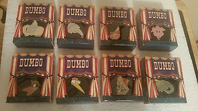 Disney Gallery Dumbo Boxed Trading Pins 8 Box Set Limited Edition of 5000