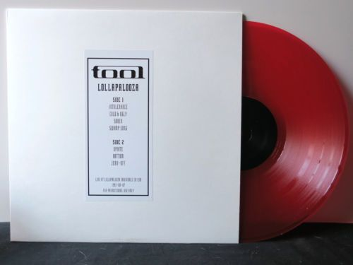 TOOL-039-Lollapalooza-039-Red-Vinyl-LP-NEW