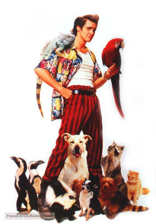 Ace Ventura: Pet Detective key poster art.