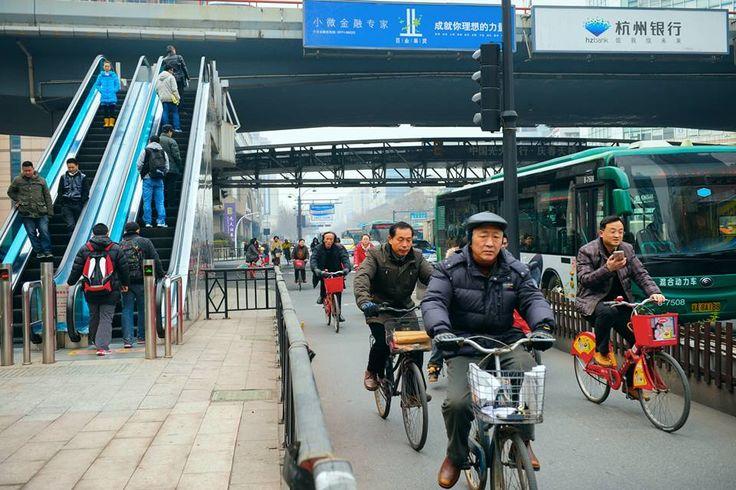 I wanna ride through the streets of Hangzhou #hangzhou #china #asia #travel #explore  #traveler #sight-see #biking #bike #cycling