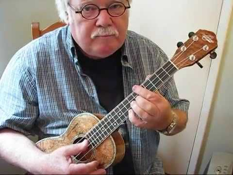 """this is my absolute favorite song. IN MY LIFE for the UKULELE - UKULELE LESSON / TUTORIAL by """"UKULELE MIKE"""""""
