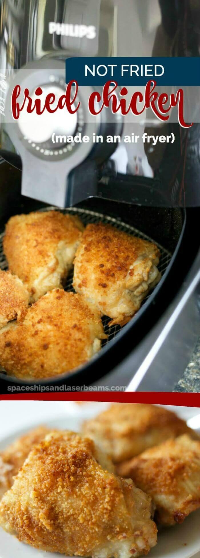 (Not Fried) Fried Chicken Recipe