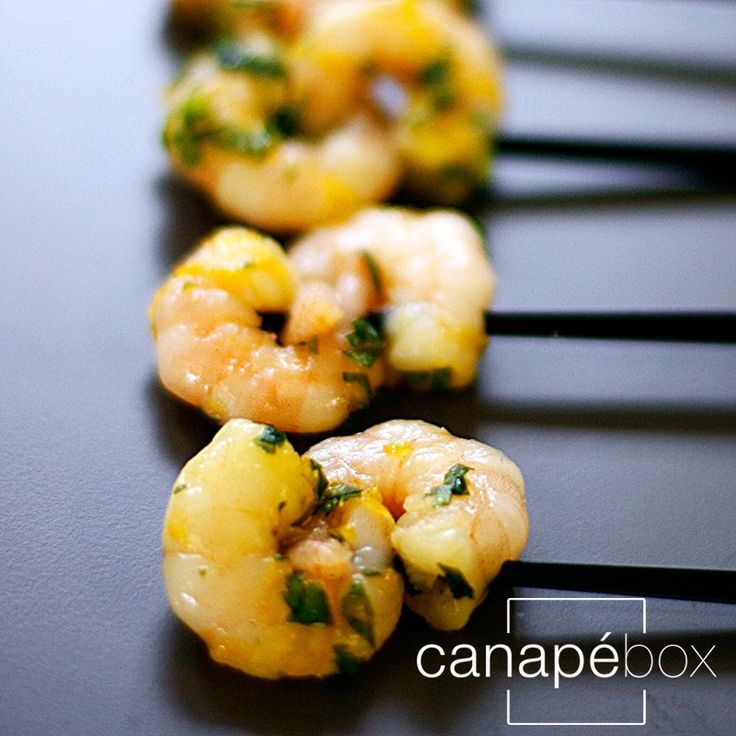 Canape-Catering-London-Thai-spiced-prawns-lime-leaf-galangal