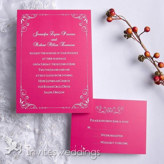17 Best Ideas About Second Wedding Invitations On