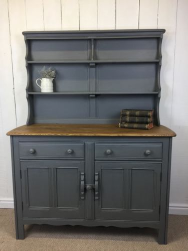Details about Dark Grey Painted Ercol Farmhouse Dresser  Rustic  Chic   Solid Wood Sideboard. The 25  best Ercol sideboard ideas on Pinterest   Mid century